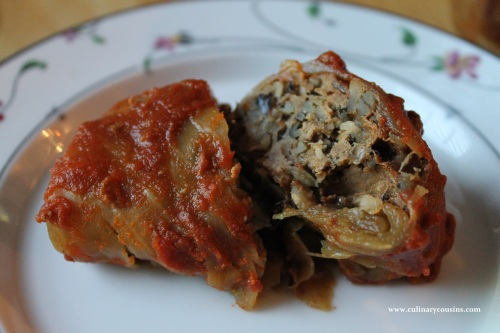 Stuffed Cabbage Rolls at www.culinarycousins.com