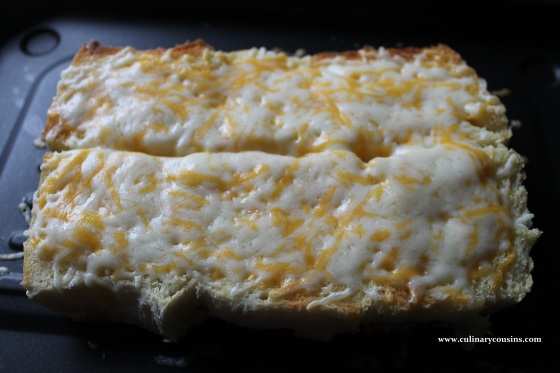 Honey Butter Cheesy Bread at www.culinarycousins.com