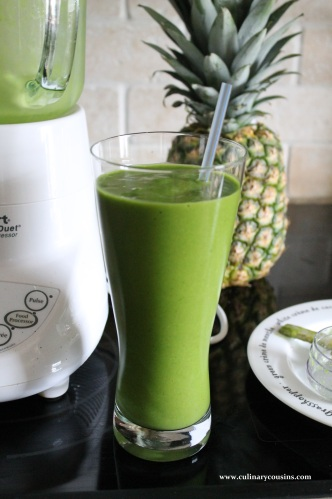 Green Smoothies | Culinary Cousins
